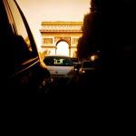 Triomphe behind us