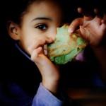 Bretonne métissée à la crêpe verte