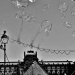 Louvre sous les bulles