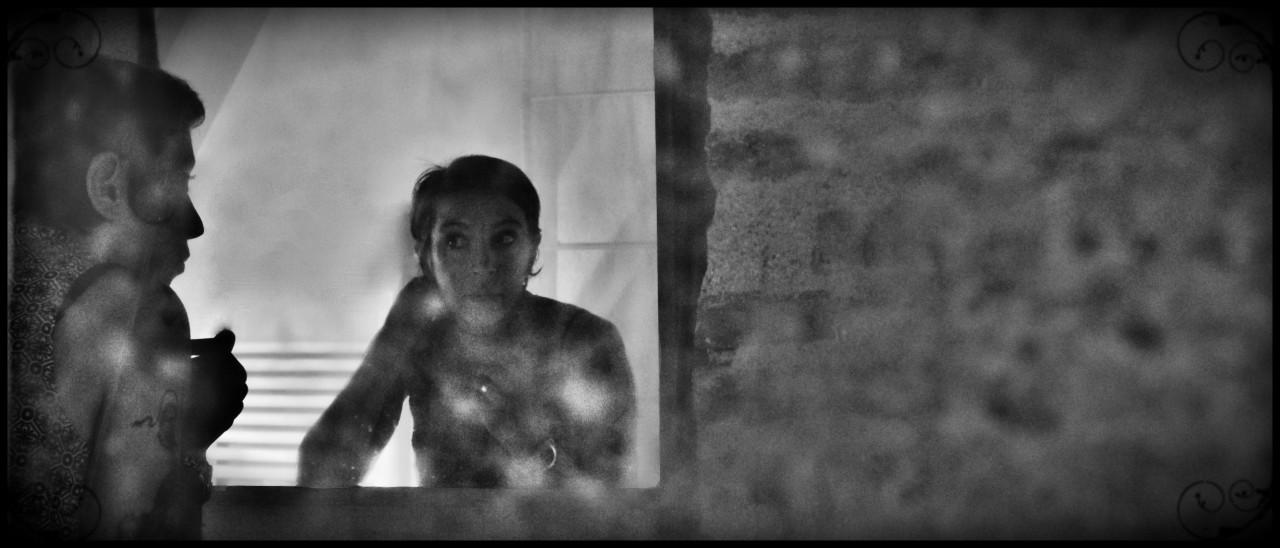 La belle au miroir